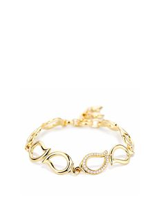 TAMARA COMOLLI Signature bracelet Diamond in 18k yellow gold