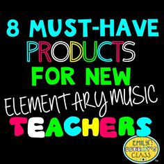 This is an awesome list of resources for elementary music teachers, and it includes a link to a freebie! This list would be especially helpful for elementary music teachers in their first 5 years of teaching or those returning after a period of absence! Preschool Music, Teaching Music, Learning Piano, New Teachers, Music Teachers, Elementary Music Lessons, Piano Lessons, Elementary Schools, Primary School