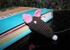 nelleke maakt van alles: boekenlegger rat