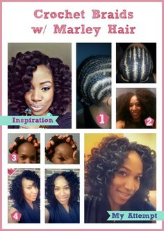 Crochet Braids with Marley Hair #ProtectiveStyle I think this is going to be my next style!