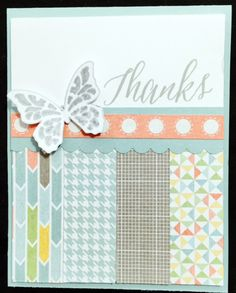 I love the colors in the CTMH Zoe paper pack.