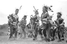 Crow dancers - circa 1928