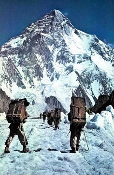 Way to K2 . Pakistan