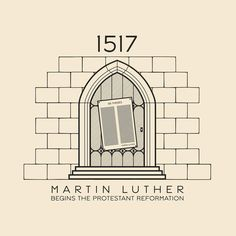 "29 Likes, 5 Comments - @donebysaturday on Instagram: ""This Day In History - 1517 - Martin Luther nails his ""95 Theses"" to the door of Wittenberg Castle…"""