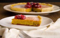 Esta tarte é muito fácil de confecionar, rápida e a combinação de sabores e texturas é maravilhosa