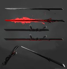 So, I decided to apply my skills in concept art for a personal project and make a portfolio update. This is my old character, which originates sometime in There will be several Ninja Weapons, Anime Weapons, Sci Fi Weapons, Weapon Concept Art, Weapons Guns, Fantasy Sword, Fantasy Weapons, Fantasy Katana, Dark Fantasy Art