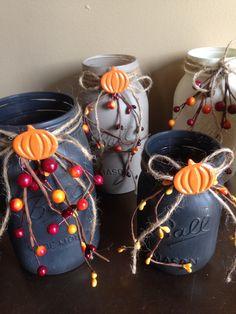 Adorable Fall Mason Jars!