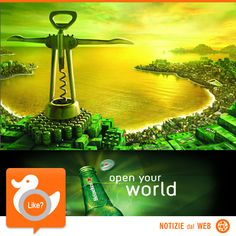 CITIES OF THE WORLD  Heineken colpisce ancora… ecco la campagna pubblicitaria che oltre a presentare le nuove bottiglie, in edizione limitata, vuole ispirare chi la guarda: l'idea è quella di svelare i segreti più reconditi delle grandi città del mondo. Video!  http://shots.it/news_item.php?news_id=182&id=11&lang=it