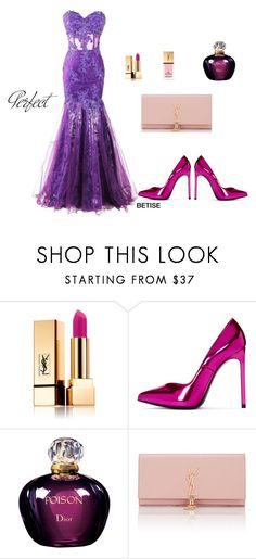 """CELEBRATION !!!!🎉🎊"" by betty-sanga ❤ liked on Polyvore featuring Yves Saint Laurent, Christian Dior and Tag"