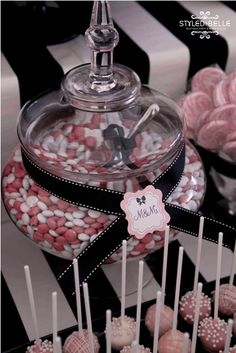 Ribbon & Tags to dress up glass serving jars