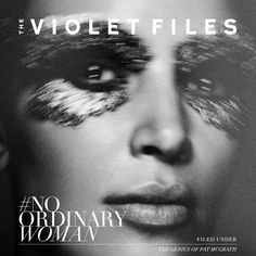 My collaboration w @patmcgrathreal & @benhassett for #THEVIOLETFILES on @VioletGrey is launching tomorrow! #PATxKIM
