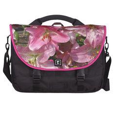 Beautiful Pink Lilies Commuter Bag