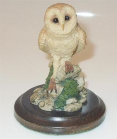 Country-Artists-Figurine-S-Langford-1989-BARN-OWL-REF99D3