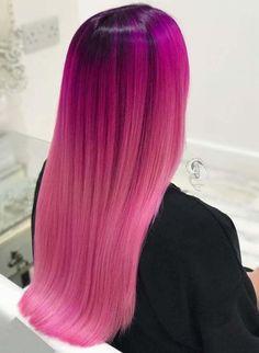 Pink Hair Color Shades You Must See Fuchsia Hair, Light Purple Hair, Pink Hair Dye, Pastel Pink Hair, Dyed Hair, Hair Color Cream, Hair Color Pink, Hair Dye Colors, Hair Color Shades