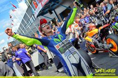 Valentino Rossi Winner TT Assen 2015