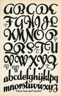 All sizes | Vertical Script | Flickr - Photo Sharing! — Designspiration