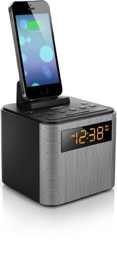 Philips AJT3300/37 Bluetooth Dual Alarm Clock Radio iPhone/Android Speaker Dock Speakerphone Microphone (Black) http://zingxoom.com/d/cwHHJ7O6