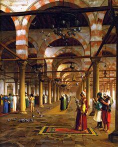 The Athenaeum - Prayer in the Mosque (Jean-Léon Gérôme - )