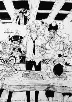 Ace, Sabo, Luffy #ASL Curly Dadan, Magura, Dugura, Dragon, Ivankoff #OnePiece