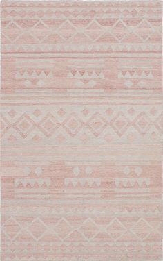 Hand woven Tribeca M34426 Copper, Light Grey Wool Kilim