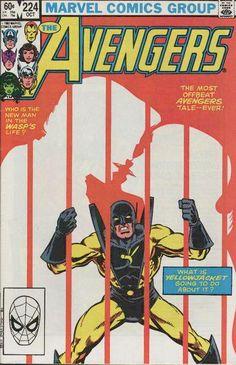 Avengers Vol 1 224 Marvel 1982 Yellowjacket Kiss Marvel Comics, Marvel Comic Books, Comic Books Art, Marvel Avengers, Comic Art, Comic Book Collection, My Collection, Book Cover Art, Comic Book Covers