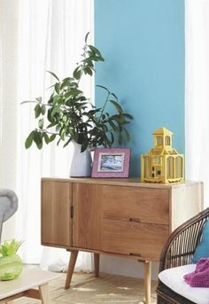 Mistura perfeita em sala de estar