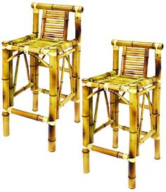 Kitchen Cabinets Ideas | RAM Gameroom Products 28Inch Bamboo Tiki Bar Stools Set of 2 ** Continue to the product at the image link. Note:It is Affiliate Link to Amazon.