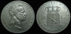 "Netherlands 2.5 Gulden Willem I 1840 ""Rare"""