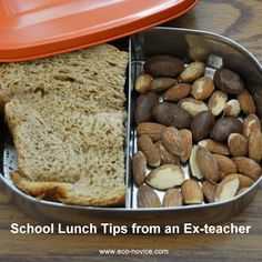 Eco-novice: School Lunch Tips from a Former Teacher