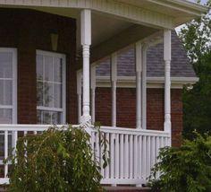 Structural Vinyl Porch Posts Fairway Vinyl Systems
