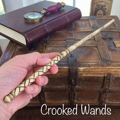 Hand Carved Lilac Wand // Wooden Wand // Harry Potter Wand //