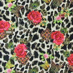 Melli Mello Panther - Decorator Fabrics Digital Print - Decorator Fabrics