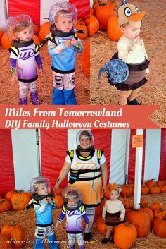 Miles From Tomorrowland Family Halloween Costumes – They're Finally Done! | Rocket Mommy
