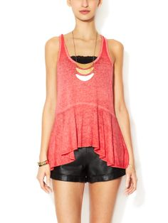 Irma Scoopneck Tank Top by Free People at Gilt