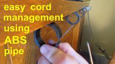 Znalezione obrazy dla zapytania cable management diy'