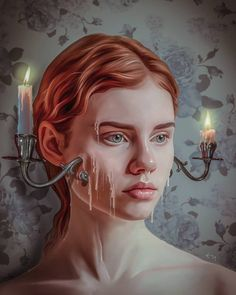 Amazing Art, Amazing Drawings, Art Drawings, Surealism Art, Illustration Arte, Illustrations, Surreal Artwork, Digital Art Girl, Human Art