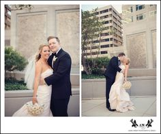 Beautiful Fall Wedding for Erin and Ed at Le Meridien Arlington! Photograph by Audra Wrisley Photography