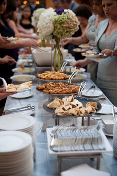 wedding reception food ideas | HAVE A WEDDING RECEPTION THAT'S ALL YOU | www.ILoveMyPlanner.net