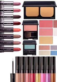 Beauty Anonymous: Shiseido Spring 2010 Makeup Collection