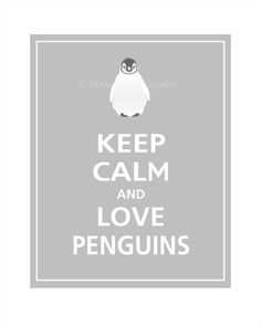 i love penguins<3