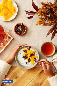 FAGE Total yoghurt, dark chocolate shavings and orange slices — cozy afternoons are here to stay. http://uk.fage/yoghurts/fage-total
