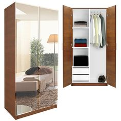 Choosing Wood Wardrobe Closet | 101 Decor Ideas