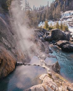 After driving 42km up the Uppet Lillooet FSR I finally had the chance to hit up Keyhole Hot springs! by patrickgiang