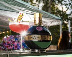 Chambord's Queen of Hearts Cocktail. Clink clink!