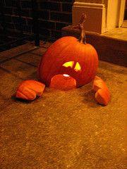 Jack O Lantern grave yard Idea