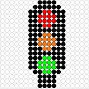 Deze kralenplank en vele andere in het thema verkeer kun je vinden op de website van Juf Milou. Bead Crafts, Diy And Crafts, Transportation Unit, Melting Beads, Pearler Beads, Motor Activities, Plastic Canvas Patterns, Filet Crochet, Beading Patterns