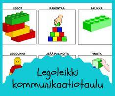 ystävyys ja leikkitaidot Lego, Legos