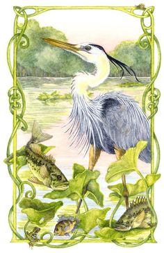 The Heron's Tale--Jo Gershman