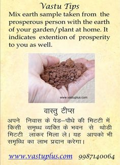 #Vastu #Shastra #tip on #prosperity www.vastuplus.com Feng Shui Cures, Feng Shui Tips, Indian House Plans, Feng Shui House, Hindu Rituals, Pooja Room Design, Vedic Mantras, Switch Words, Puja Room