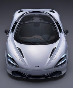 mclaren 720S supercar's dihedral doors channel air to cool the engine